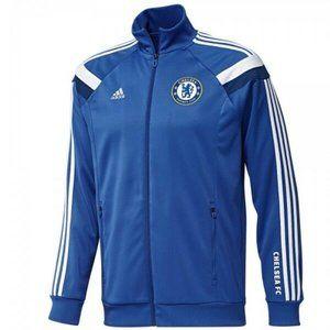 Adidas Chelsea FC 2014 2015 Soccer Track Jacket
